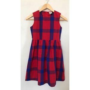 J. Crew Little Girls Plaid Dress
